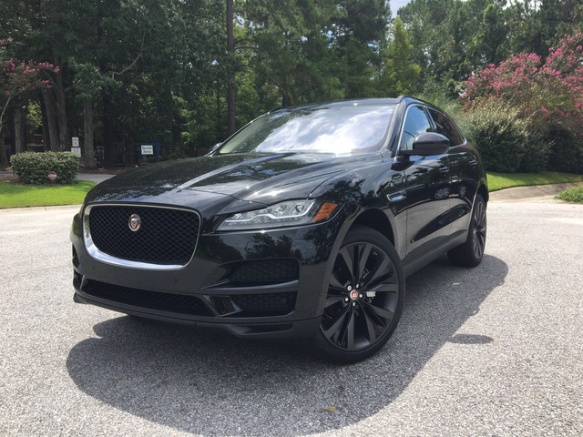 new 2018 jaguar f pace 20d prestige suv in charleston ja1702 jaguar west ashley. Black Bedroom Furniture Sets. Home Design Ideas